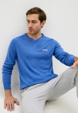 Пуловер Roberto Cavalli Sport. Цвет: голубой