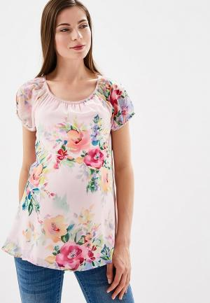 Блуза BuduMamoy. Цвет: розовый