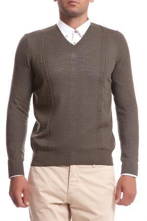 Пуловер CACHAREL. Цвет: зеленый