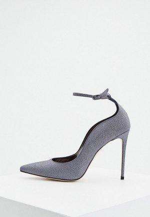 Туфли Le Silla. Цвет: серый