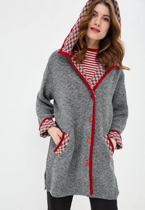 Кардиган Milana Style. Цвет: серый