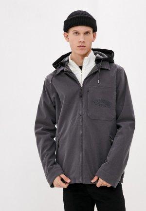 Куртка сноубордическая Billabong. Цвет: серый