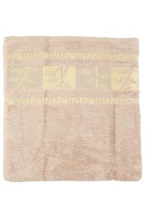 Полотенце махровое, 70х140 см BRIELLE. Цвет: мокко