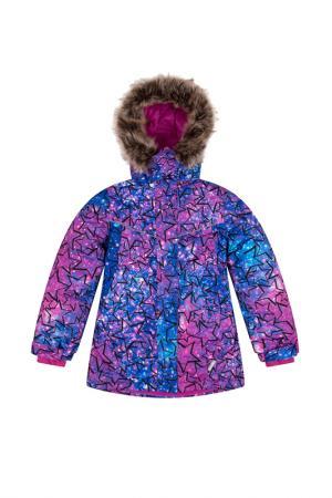 Куртка LEMON. Цвет: мультиколор