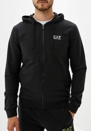 Толстовка EA7. Цвет: черный