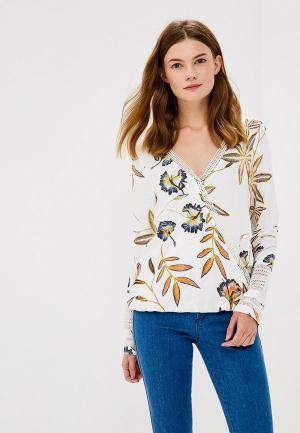 Блуза Roxy. Цвет: бежевый