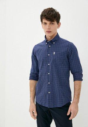 Рубашка Barbour. Цвет: синий