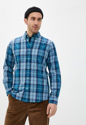 Рубашка Barbour. Цвет: голубой