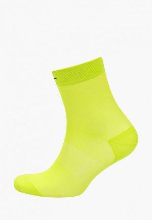 Носки 2 пары Nike. Цвет: зеленый