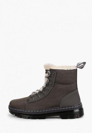 Ботинки Dr. Martens. Цвет: серый