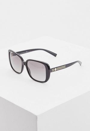 Очки солнцезащитные Versace. Цвет: серый