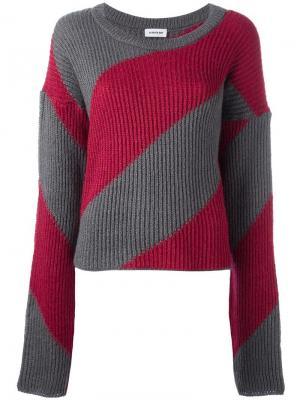 Джемпер с удлиненными рукавами Au Jour Le. Цвет: красный
