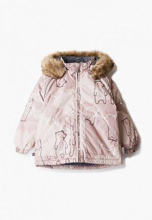Куртка утепленная Huppa. Цвет: бежевый