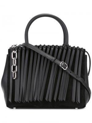 Большая сумка-тоут Marion Attica Alexander Wang. Цвет: чёрный