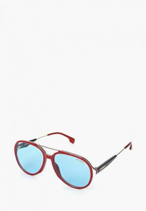 Очки солнцезащитные Carrera. Цвет: красный