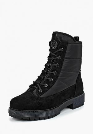 Ботинки King Boots. Цвет: черный