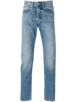 Зауженные джинсы Edwin. Цвет: синий