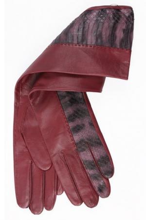 Перчатки Dali Exclusive. Цвет: винный