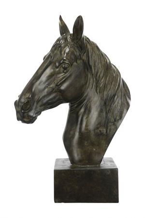 Фигурка Голова лошади ГЛАСАР. Цвет: бежевый