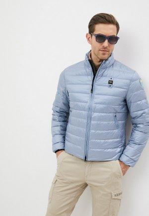 Куртка утепленная Blauer USA. Цвет: голубой