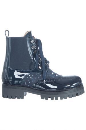 Boots LORETTA PETTINARI. Цвет: синий