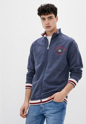 Олимпийка Jacks Sportswear Intl Jack's. Цвет: синий