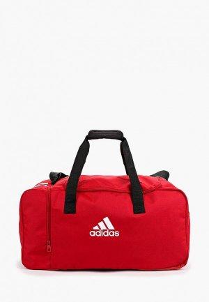 Сумка спортивная adidas. Цвет: красный