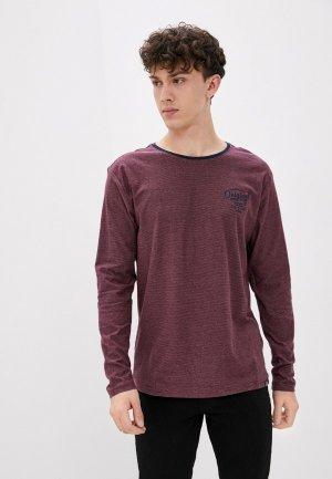 Лонгслив Jacks Sportswear Intl Jack's. Цвет: бордовый
