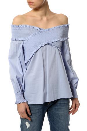 Блуза Anna Rita N. Цвет: голубой