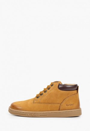 Ботинки Kickers. Цвет: коричневый