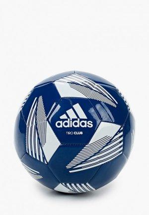 Мяч футбольный adidas. Цвет: синий