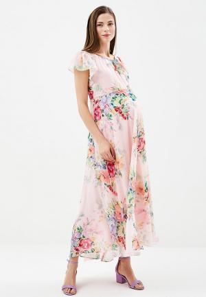 Платье BuduMamoy. Цвет: розовый