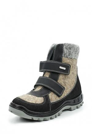 Ботинки Котофей. Цвет: бежевый