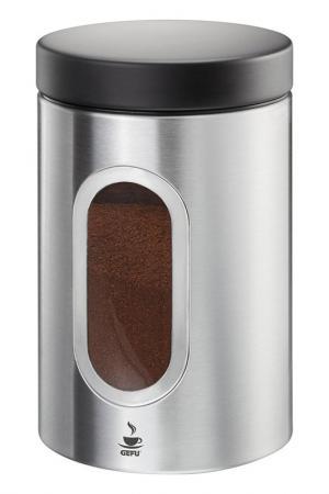 Контейнер для кофе GEFU. Цвет: металлический