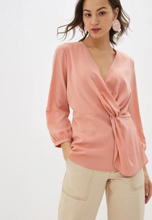 Блуза Sisley. Цвет: розовый