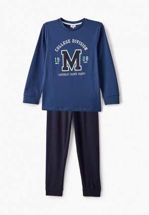 Пижама OVS. Цвет: синий