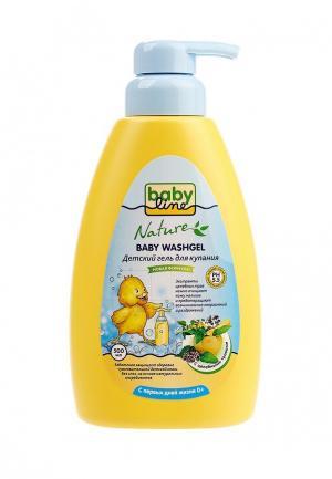 Гель для купания Babyline. Цвет: желтый