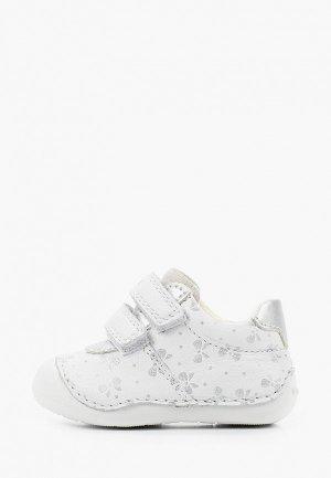 Ботинки Geox. Цвет: белый