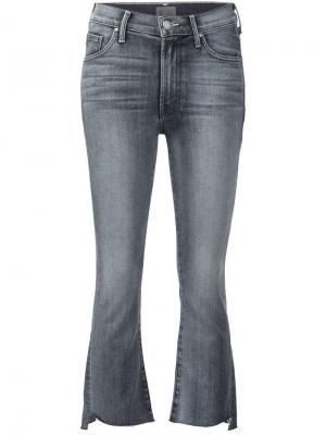 Расклешенные джинсы Mother. Цвет: чёрный