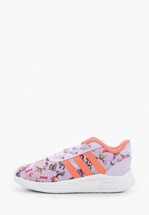 Кроссовки adidas. Цвет: фиолетовый