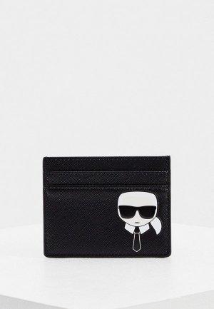 Визитница Karl Lagerfeld. Цвет: черный