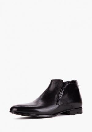 Ботинки Etor. Цвет: черный