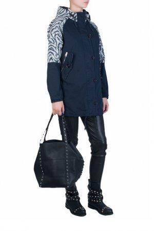 Куртка Marco Del Forte. Цвет: черный