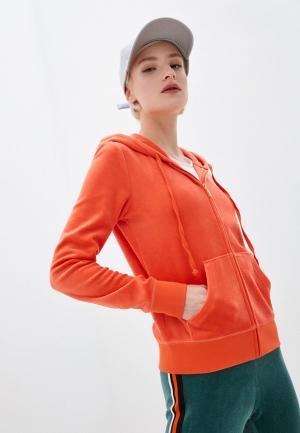 Толстовка Juicy Couture. Цвет: оранжевый