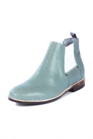Ботинки MJUS. Цвет: зеленый