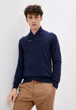 Пуловер William De Faye. Цвет: синий