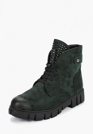 Ботинки Elche. Цвет: зеленый