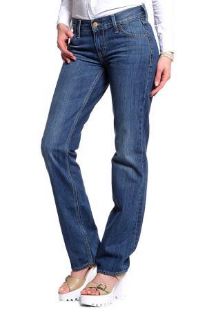 Брюки джинсовые MUSTANG. Цвет: синий