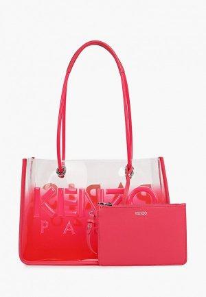 Комплект Kenzo. Цвет: розовый