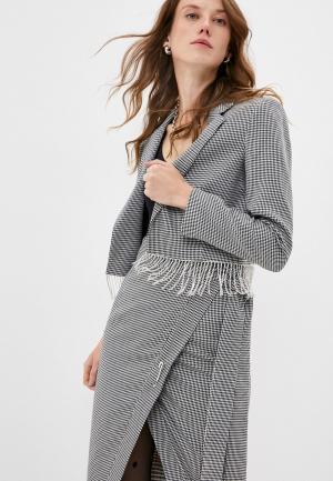 Жакет Forte Dei Marmi Couture. Цвет: серый